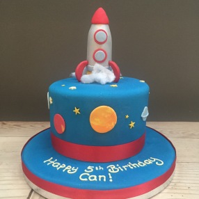 Rocket and Space Cake